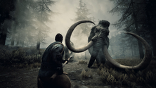 A screenshot of a Conan Exiles mammoth