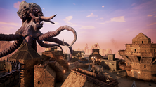 A screenshot of a Conan Exiles monster