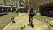 A screenshot of a CS:S server assault
