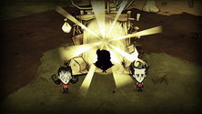 A screenshot of a portal on a Don't Starve Together server