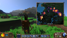 A screenshot of some gameplay on an ECO server