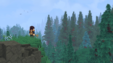 A screenshot of some Hytale gameplay