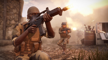 A screenshot of some Insurgency: Sandstorm players