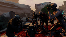 A screenshot of a fight on some Killing Floor 2 server hosting