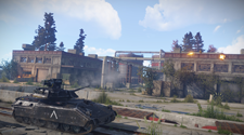 A screenshot of players fighting over a base-raid in the game Rust