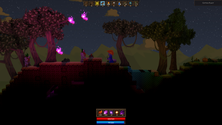 A screenshot of some Spoxel gameplay
