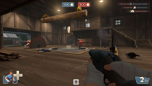 A screenshot of a TF2 Mann Co. server