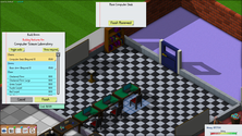 A screenshot of some gameplay on some UniverCity server hosting