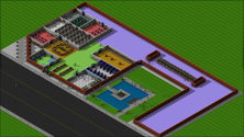 A screenshot of a community on a UniverCity server