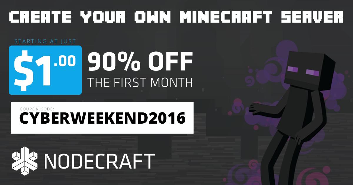 NodeCraft Minecraft 1.11 sale