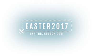 Take 30% off your first month's service with coupon code 'EASTER2017'!